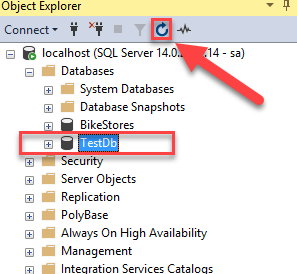 SQL Server CREATE DATABASE By Practical Examples