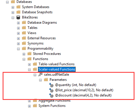 SQL Server Scalar Functions By Practical Examples