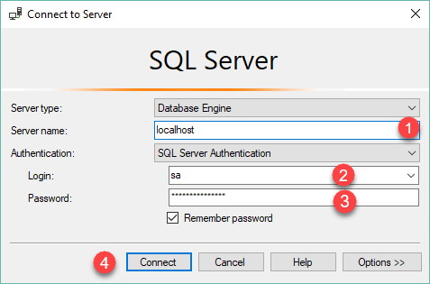 Load SQL Server Sample Database